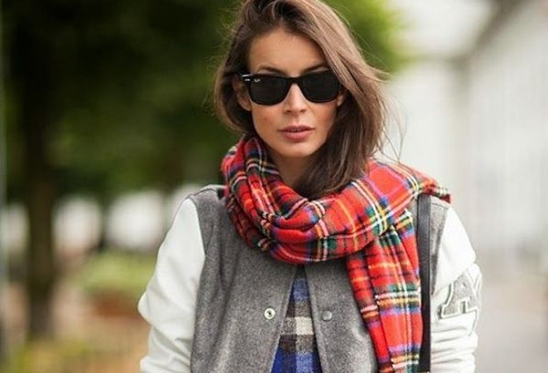 15 Chic Ways to Wear a Scarf this Fall