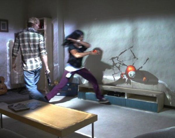 Transform Your Living Room into an Interactive Video Game