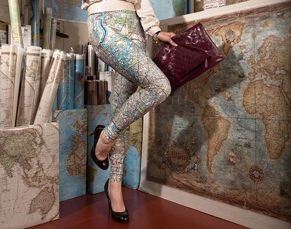Now You Can Turn Your Artwork Into Custom Leggings