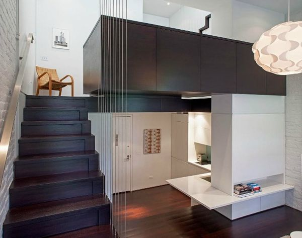 Small Space Alert: Watch a Studio Become a 3-Story Apartment