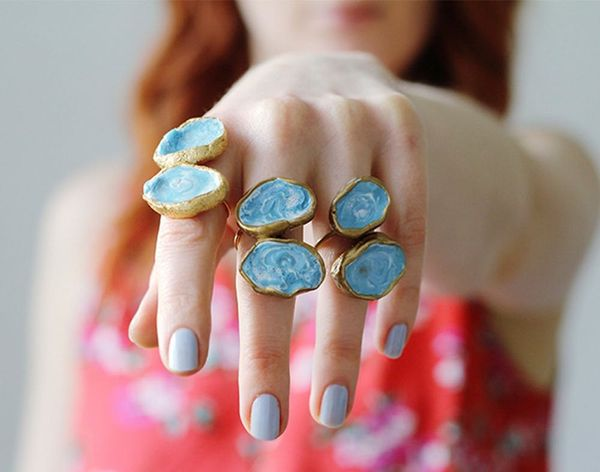 16 Gorgeous Agate DIY Projects