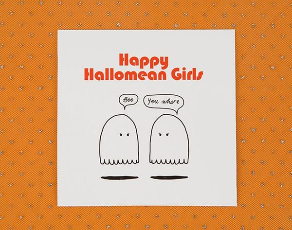 This Mean Girls Halloween Card Is So Fetch