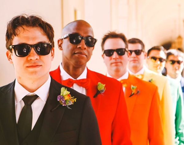 18 Crazy Colorful Ideas for Your Groom
