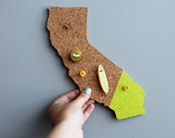 12 Modern and Chic Corkboard DIYs