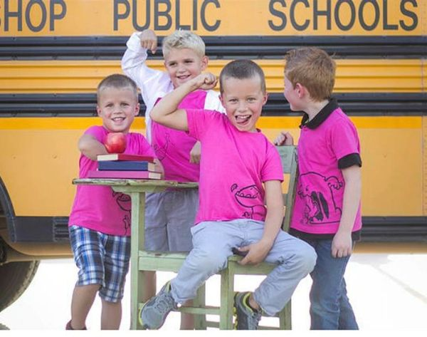 Quirkie Makes Pink Shirts for Girls AND Boys