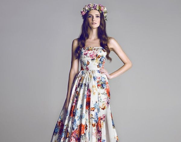 17 Floral Wedding Dresses You Can Shop Now