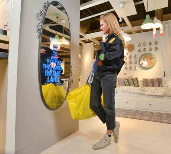 IKEA Just Reinvented the Mirror in a Crazy Cool Way