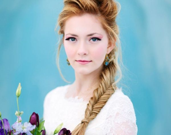 "Be a (Snow) Queen in This ""Frozen""-Inspired Wedding Gown"