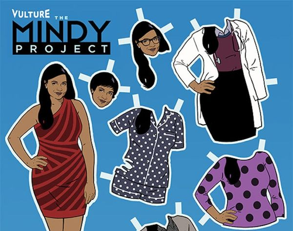 Made Us Look: Your Favorite TV Characters as Paper Dolls