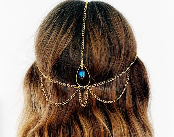 DIY a Chic Hair Chain in 15 Minutes