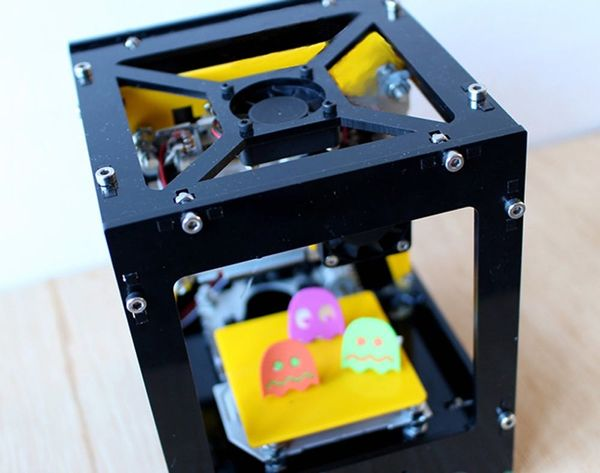 Makers, You Need This Awesome Laser Cutting Cube