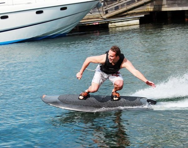 Missing Summer? Get on This Wakeboard, No Boat Needed
