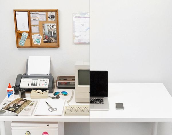 WATCH: How Technology Has Taken Over Our Desks