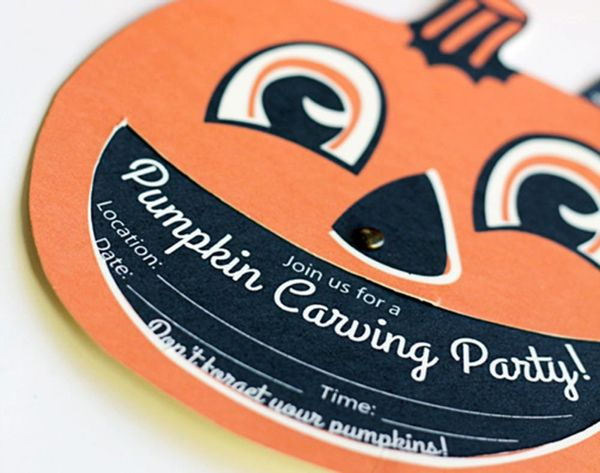 14 Haunting Halloween Party Invitations