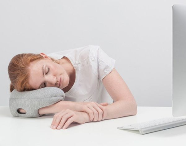Nap Literally Anywhere With This Tiny Pillow