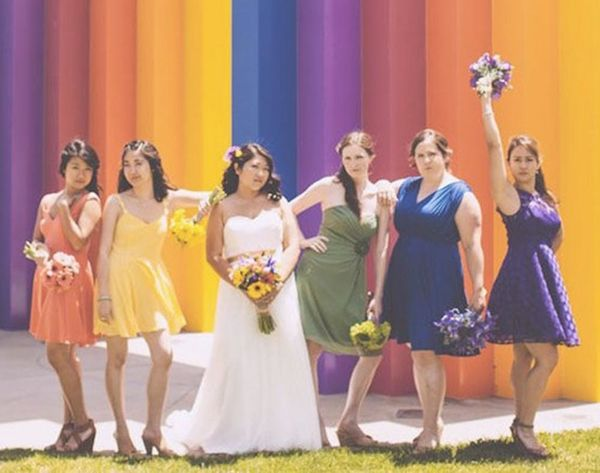 20 Mismatched Bridesmaid Dresses for Your Modern Wedding