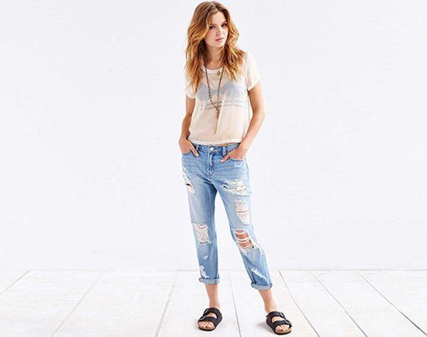 16 Rockin' Pairs of Boyfriend Jeans Under $100