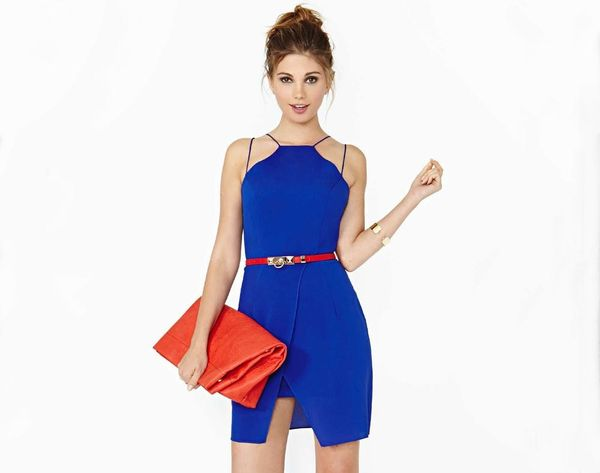 18 Pantone-Approved Excuses to Wear a Blue Dress This Fall
