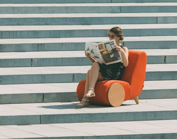 Found: A Wheelbarrow-Inspired Chair You'll Love