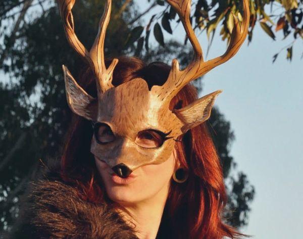 Cool or Creepy? 15 Handmade Animal Masks for Halloween