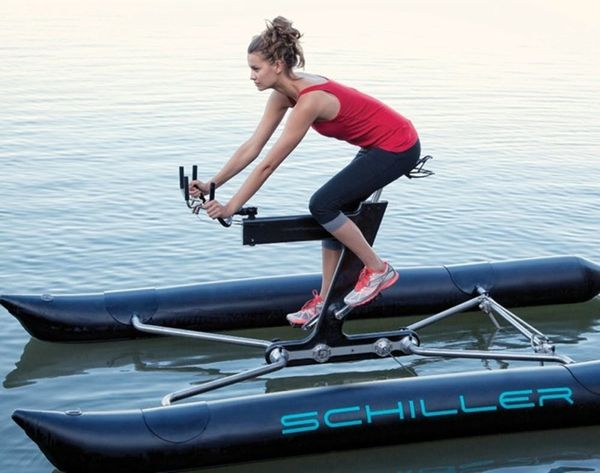 This Water Bike Is the Coolest Way to Work Out