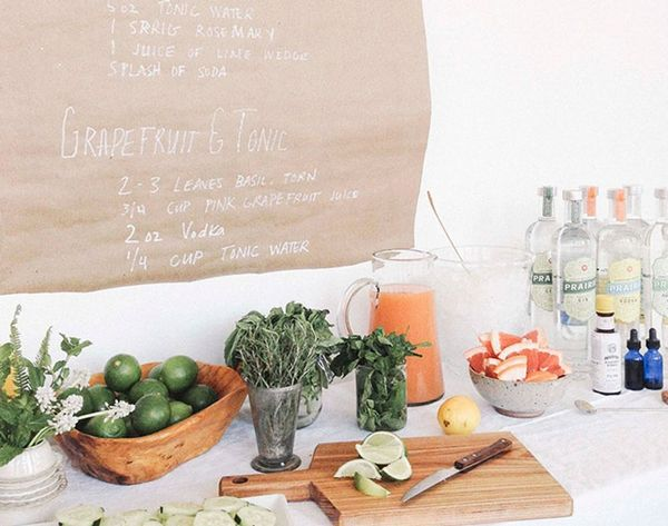 10 DIY Drink Bars for Your Wedding