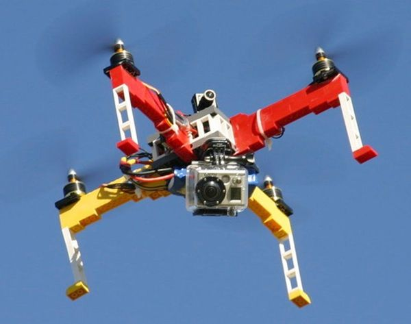 Test Drive the World's First DIY LEGO Drone