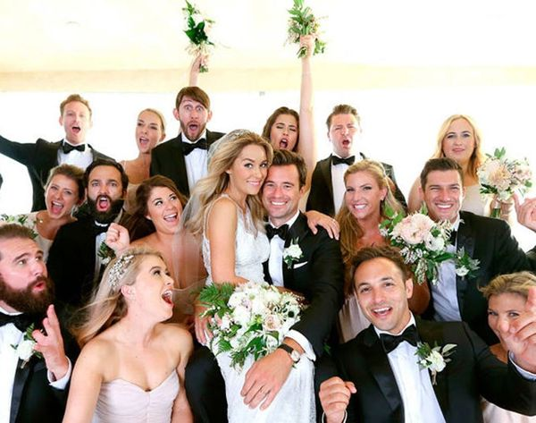 See Lauren Conrad's Wedding Dress + More Pics from Her I Dos