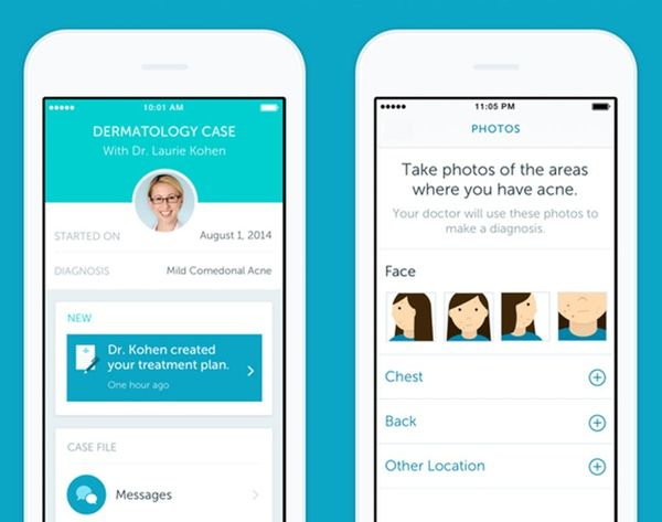 This New App Lets You Visit the Dermatologist from Your Phone