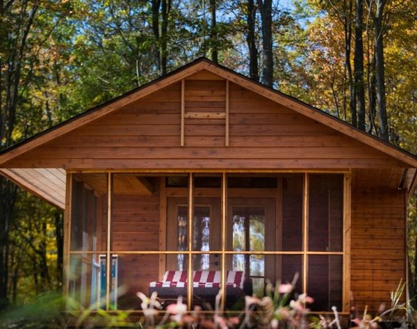 Take This Cabin on Wheels on Your Next Camping Trip