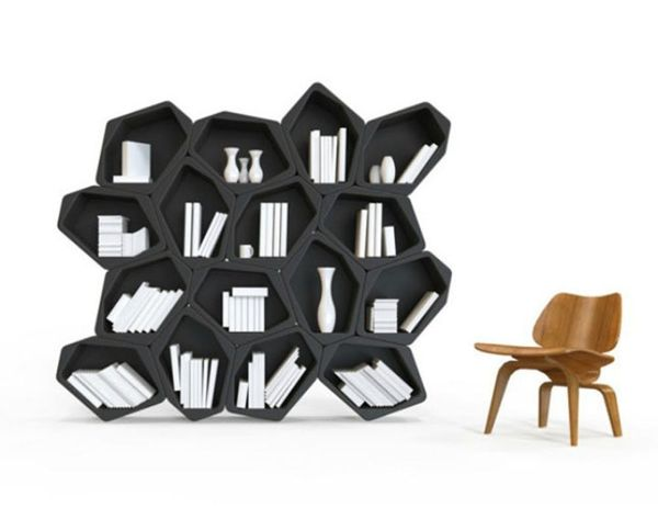 Build Your Own Shelves With These Changeable Units
