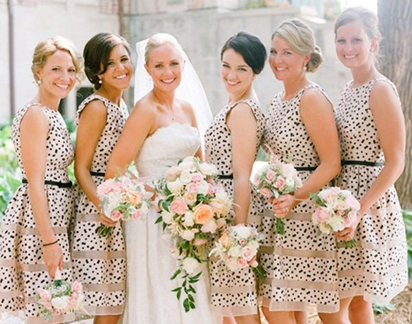 20 Ways to Dip Your Wedding Day in Dots