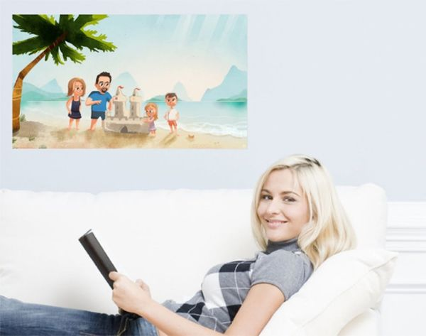 Commission One-of-a-Kind Wall Decals With ArtCling