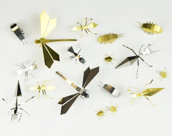 Get Your Fold On With These Metal Origami Kits