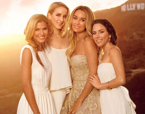 New Celeb Wedding Trend: Bridesmaids Wearing White