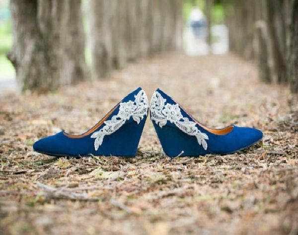 20 Chic Wedges For Your Wedding Day