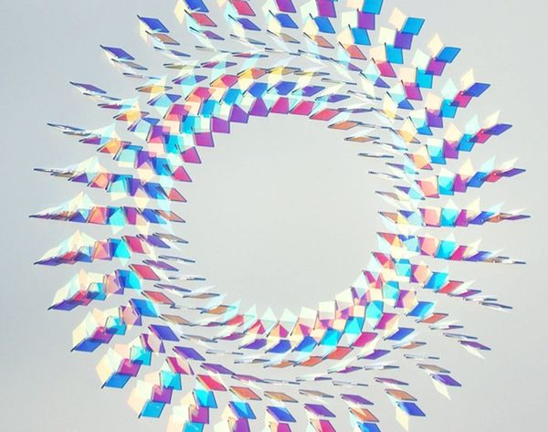 These Glass Installations are Like Kaleidoscopes IRL