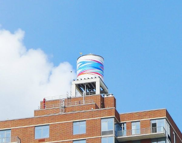 This Project Transforms NYC Water Towers into Works of Art