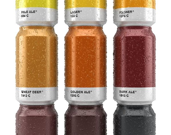 Why Isn't This Real Yet? Pantone Beer FTW