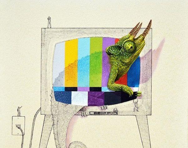 Art Obsession: Ricardo Solis' Imaginative Animal Illustrations