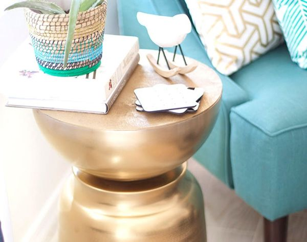 DIY This West Elm-Inspired Side Table in Just 2 Steps