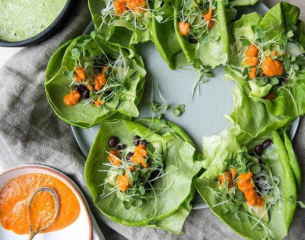 14 Lettuce Wrap Recipes You Need in Your Lunch Rotation