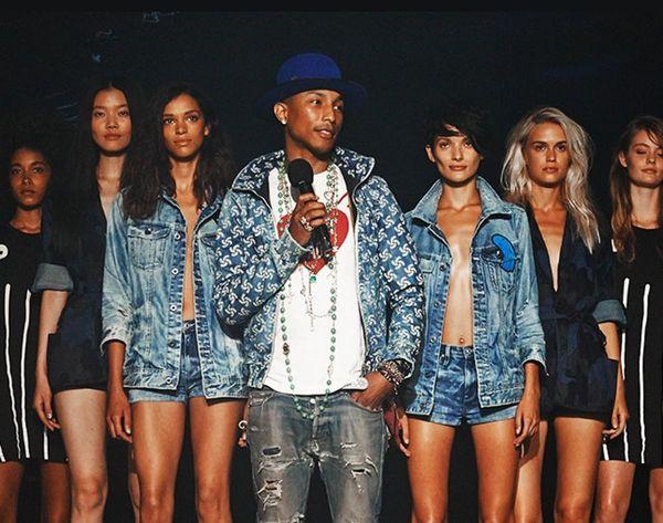 Pharrell + Recycled Plastic = Ocean-Saving Jeans