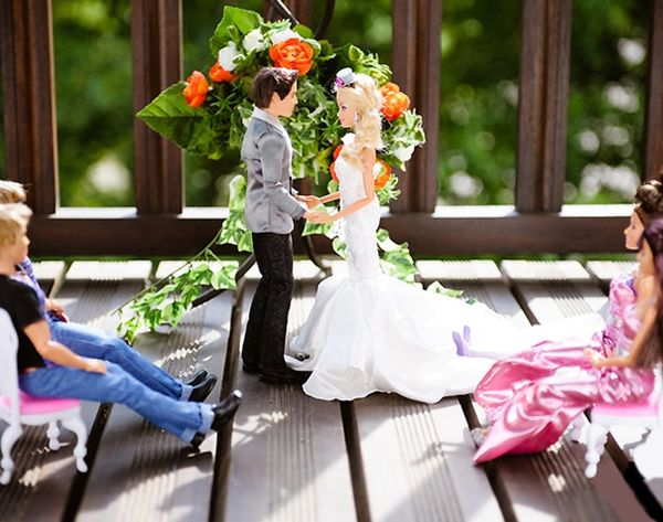 ICYMI: This Is What It Looks Like When Ken and Barbie Get Hitched