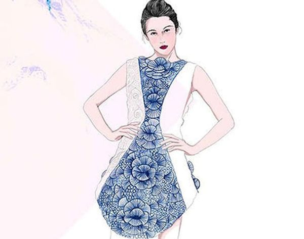 WHOA! This Dress Was Made With a 3D Printing Pen