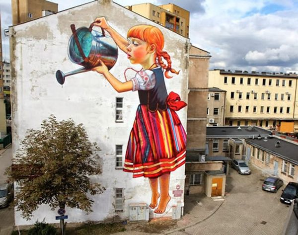 22 Pieces of Awesome Street Art from Around the World