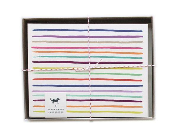 Line It Up: 28 Striped Stationery Sets