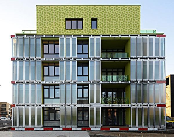 This Apartment Complex is Powered by… Algae?!
