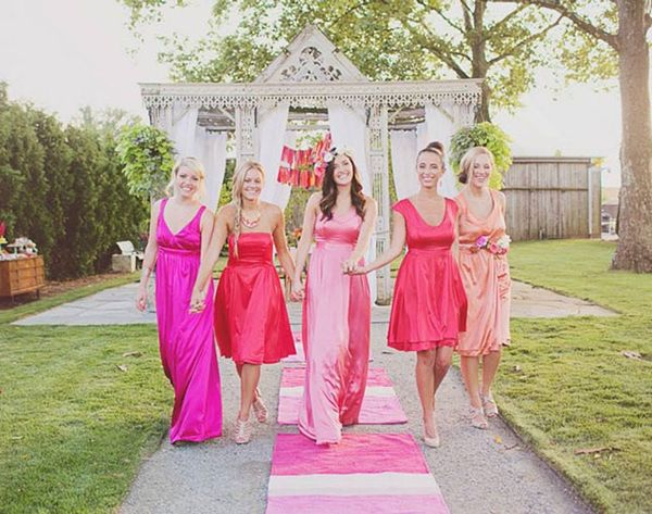 Whoa! These Bridesmaid Dresses Turn into LBDs