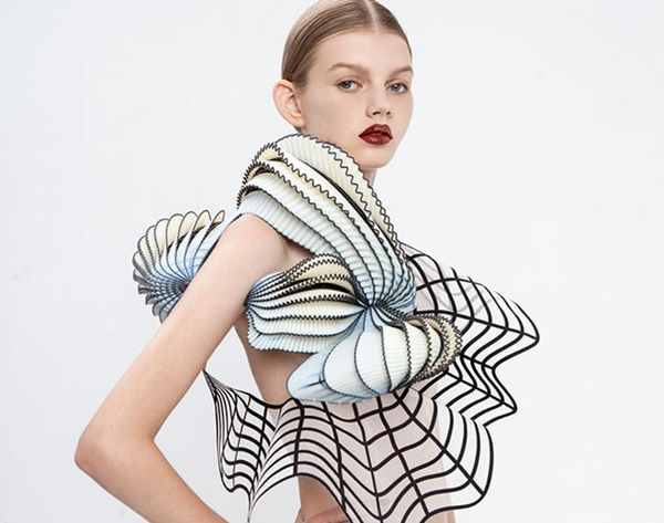 Made Us Look: The Most Gorgeous 3D Printed Clothing Ever
